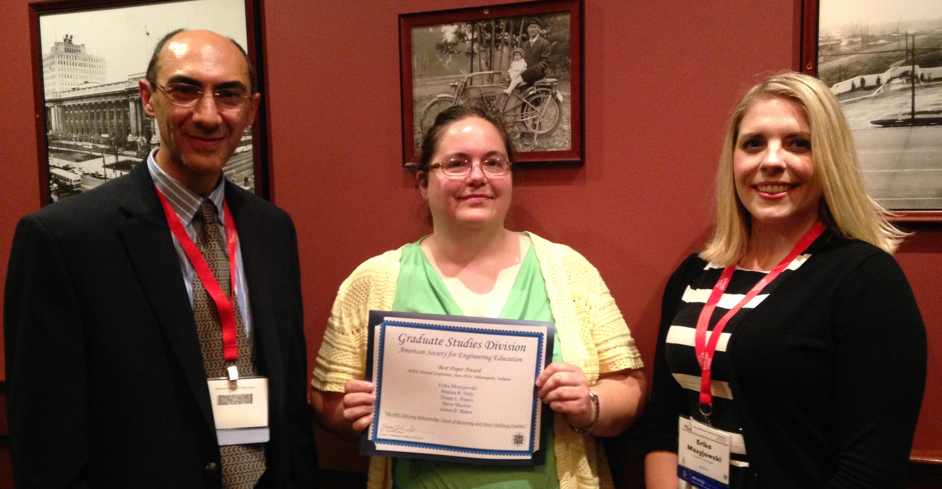 ASEE-GSD Best Paper Award